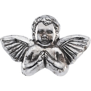 14K Gold Praying Angel Lapel Pin