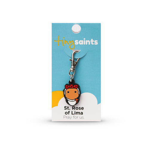 Saint Rose of Lima Tiny Saint Charm