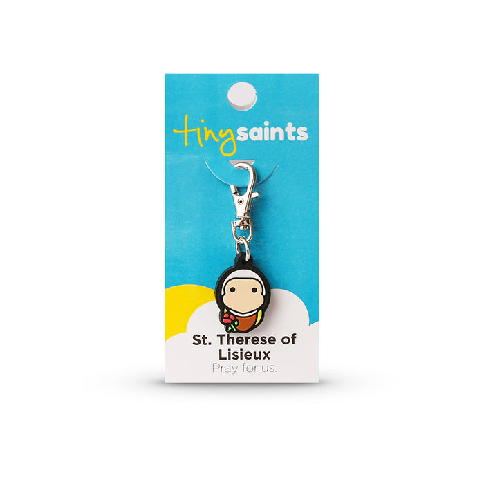 Saint Therese of Lisieux Tiny Saint Charm