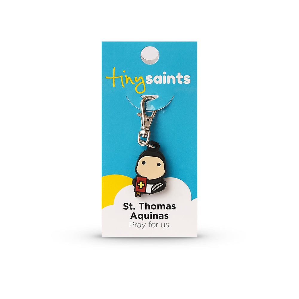 Saint Thomas Aquinas Tiny Saint Charm