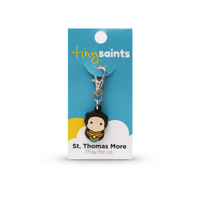 Saint Thomas More Tiny Saint Charm