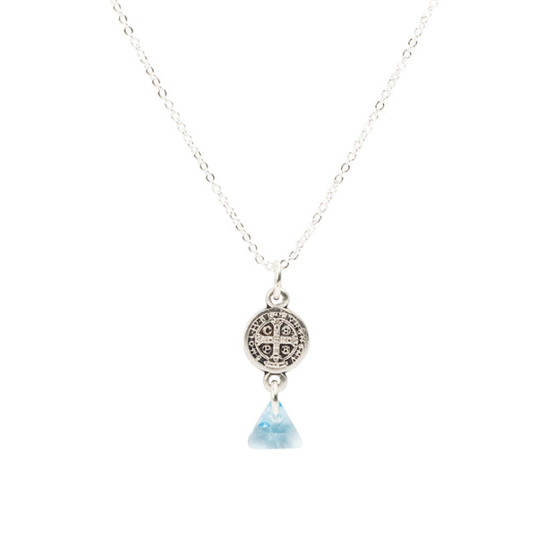 Trinity in Tranquility Necklace