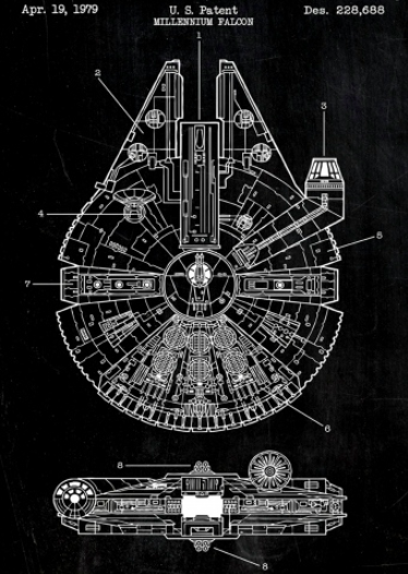 Star Wars Design Schematics - The Wall Guru on batman schematics, tron schematics, wall-e schematics, terminator schematics, kamen rider schematics, robotech schematics, prometheus schematics, a wing fighter schematics, pneumatic schematics, macross schematics, stargate schematics, star destroyer, pacific rim schematics,