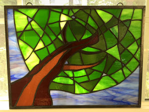 Lazy Summer Stained Glass
