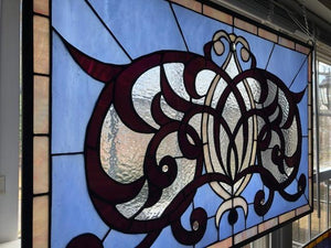 Art Nouveau Stained Glass