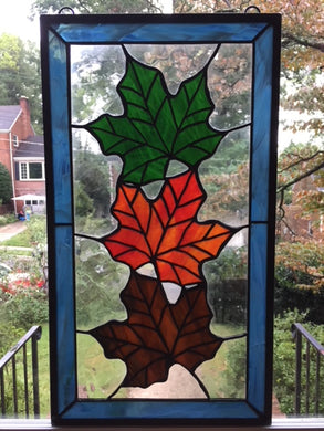 Transform to Autumn Stained Glass