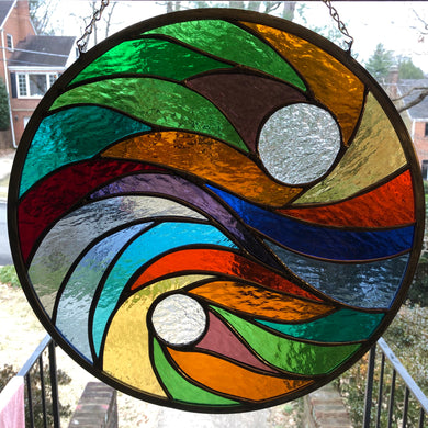 Hard Candy Round Stained Glass
