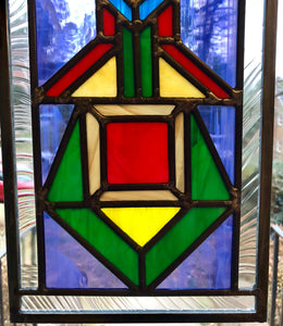 Tribal Art Stained Glass