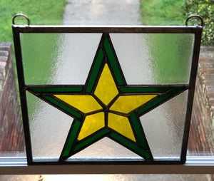 Army Stained Glass Panel
