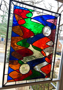 Contemporary Melody Stained Glass