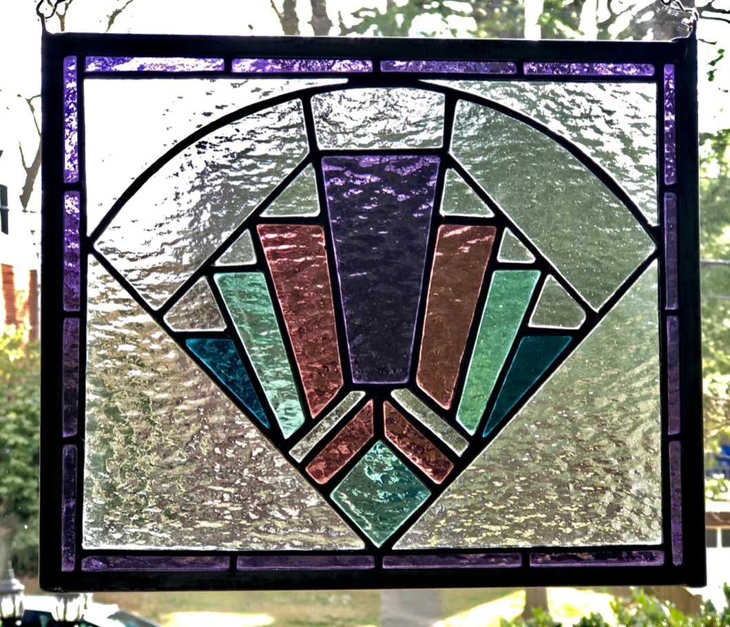 Art Deco Glass Piece