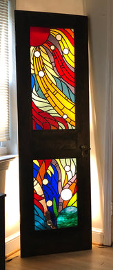 Spectrum of Light Illumination Art Door