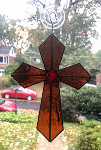 Cross Sun Catcher