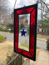 Service Flag Stained Glass