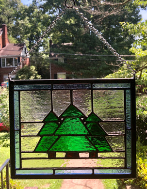 Three Pines Stained Glass