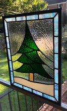 Little Christmas Tree Stained Glass