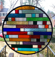 Remnants Round Stained Glass