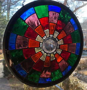 Color Wheel Glass Piece