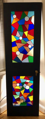 Clarus Stained Glass Door