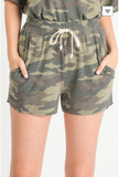 Welcome to the Camo Party 2-Piece Set (Top + Shorts)