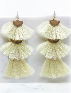 Sway this Way Tassel Earrings