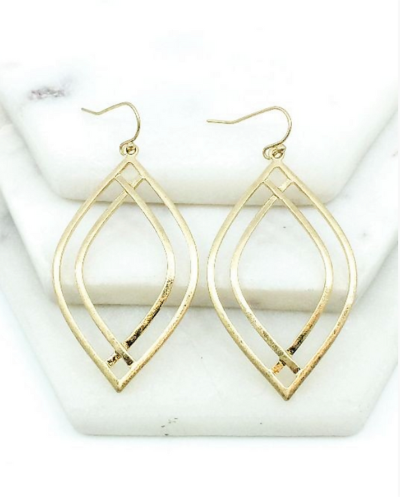 Golden Warrior Earrings