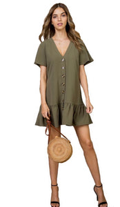 Olive You Too Babydoll Dress