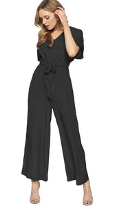 Time for Myself Black Jumpsuit