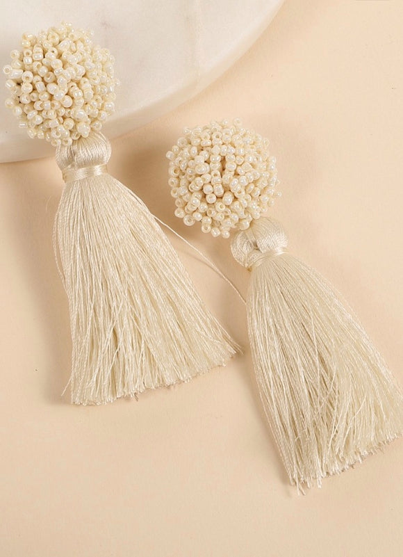 Take Me to the Resort Tassel Earrings
