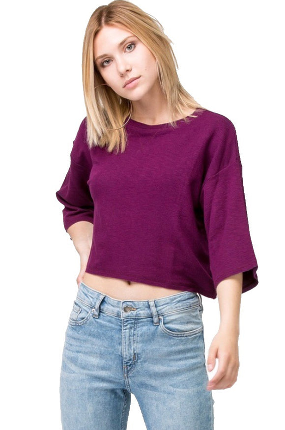 Feel Good Crop Top