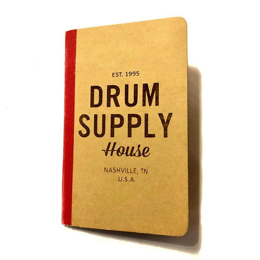 BOOK Drum Supply House Moleskine Notebook SMALL LIMTED STOCK - Drum Supply House
