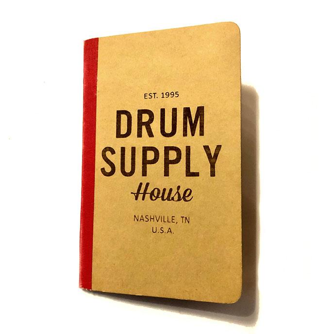BOOK Drum Supply House Moleskine Notebook SMALL LIMTED STOCK