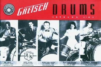 BOOK 1941 Gretsch Catalog Repro LIMTED STOCK - Drum Supply House