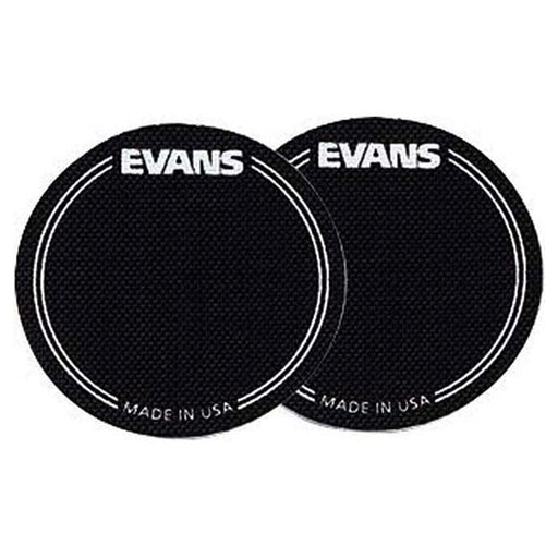 Evans Bass Drum EQ Patch Kevlar 2 pack BLACK - Drum Supply House