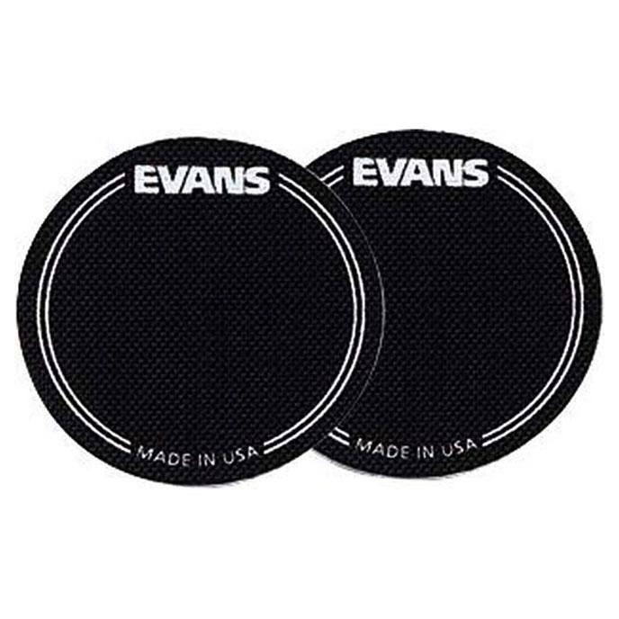 Evans Bass Drum EQ Patch Kevlar 2 pack BLACK