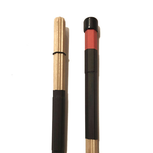 Multi Rods Maple Wood Dowels Plastic / Rubber Handle