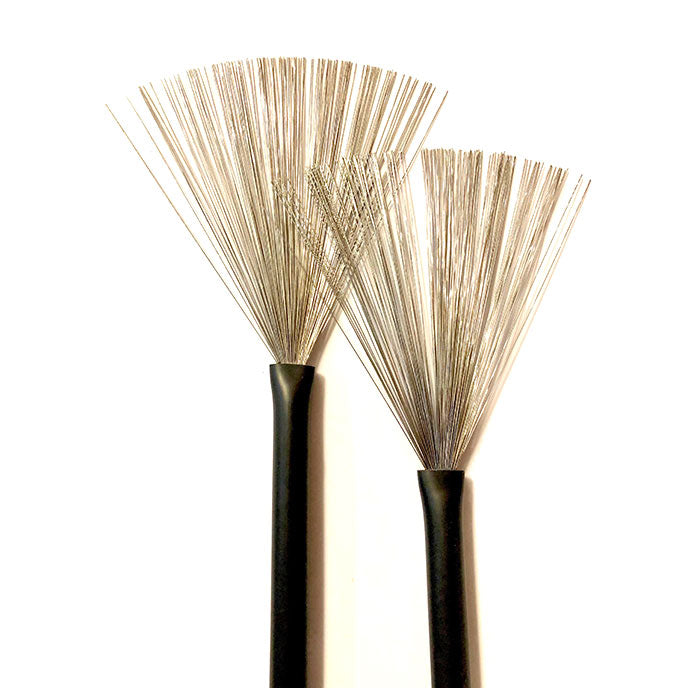 Wire Brushes Retractable / Rubber Handle