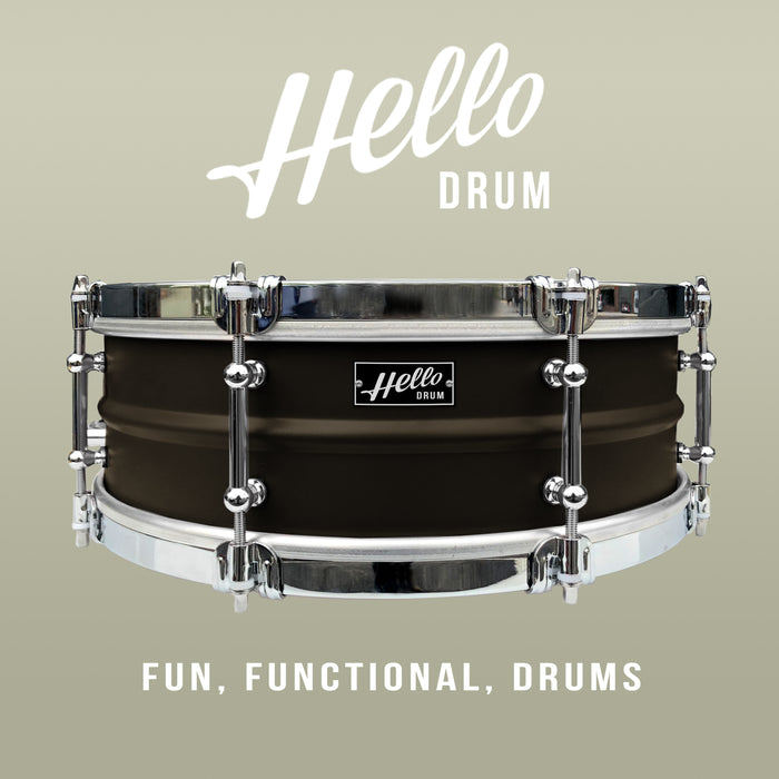 Hello Drum Snare - Satin Black