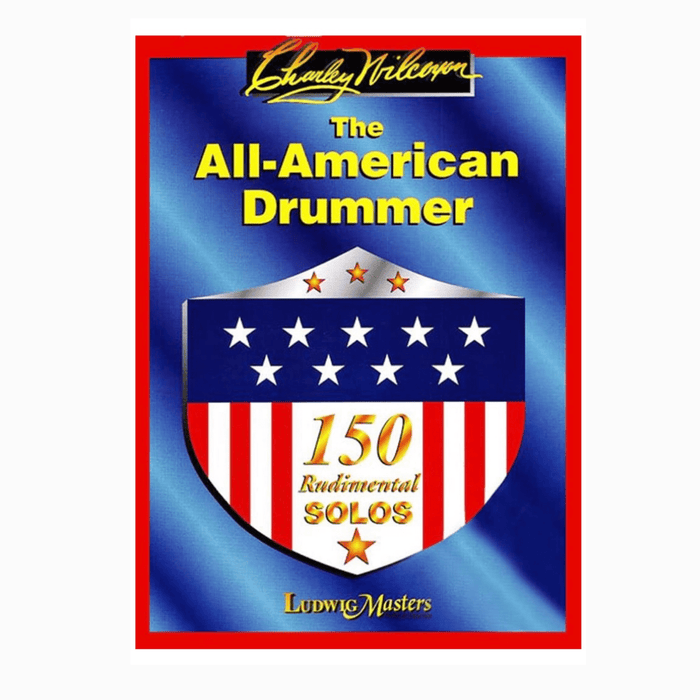 BOOK The All-American Drummer by Charley Wilcoxon RARE