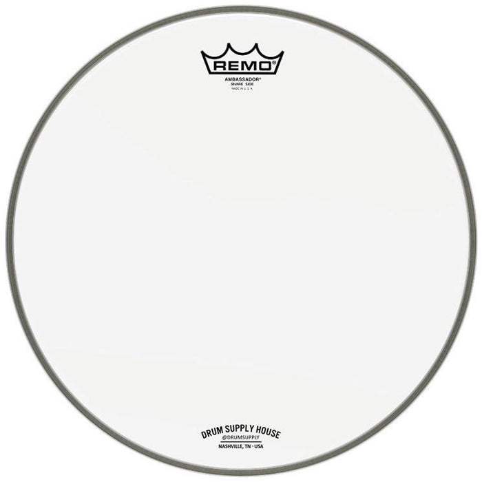 Logo Ambassador drumhead Coated/Hazy TWO pack - 14 Inch by Remo