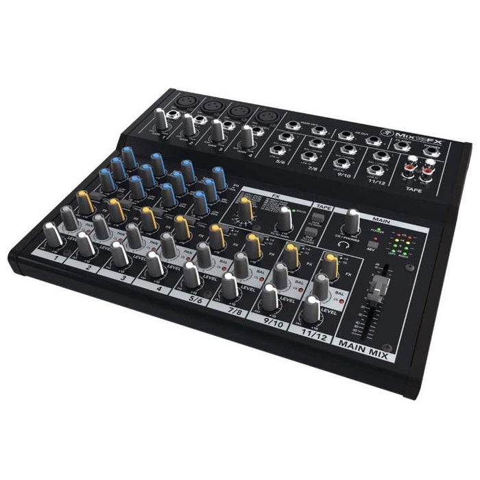 Mackie Mix12FX Mix Series 12-Channel Compact Mixer - Drum Supply House