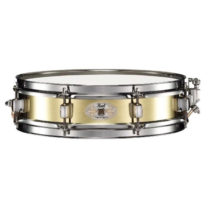 Pearl 3 x 13 Brass Piccolo Snare Drum - Drum Supply House