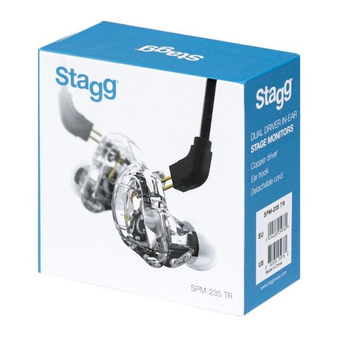 Stagg High-resolution, Sound-isolating In-Ear-Monitors