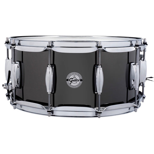 Gretsch Black Nickel over Steel Snare Drum 6.5x14