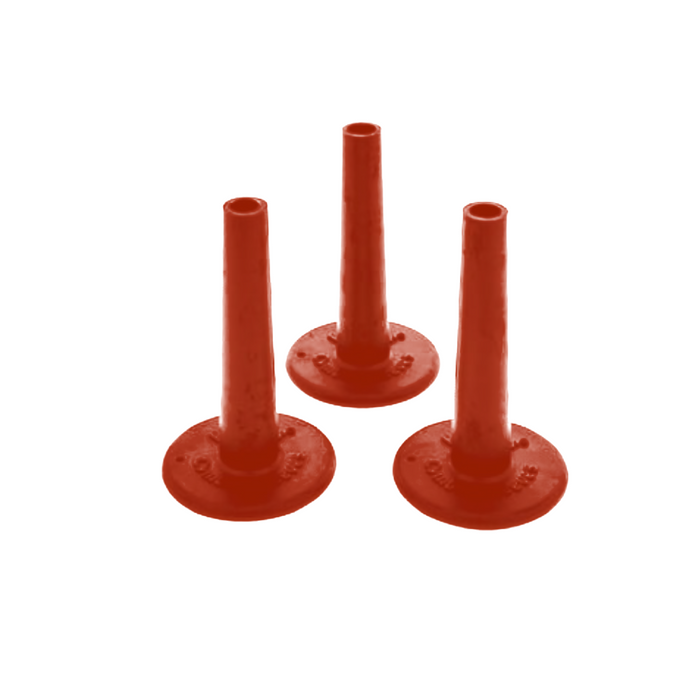 NoNuts Cymbal Sleeves RED