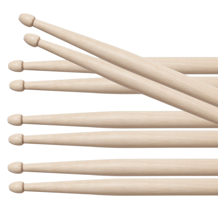 4pr Vic Firth 7A American Classic Wood Tip Drumsticks Value pack