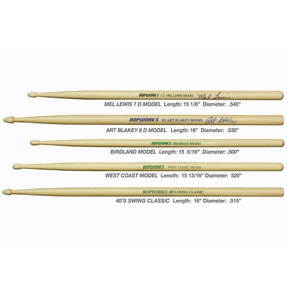 Bopworks Memphis R&B drum sticks
