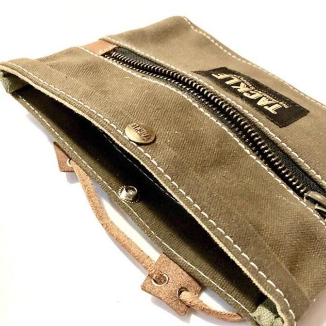 Drum Bag TACKLE Olive Utility Gig Pouch