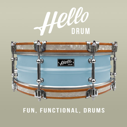 Hello Drum Snare - Powder Blue