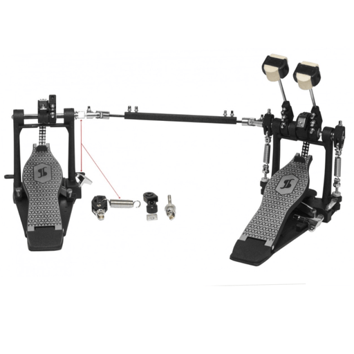 Stagg DOUBLE Bass Drum Pedal - double chain PPD-52 - Drum Supply House